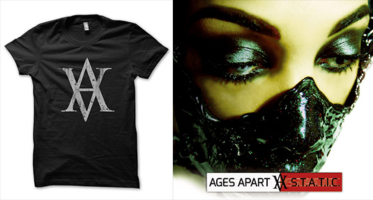 Ages Apart T-Shirt, STATIC